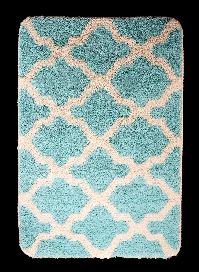 Alhambra badmat licht groen