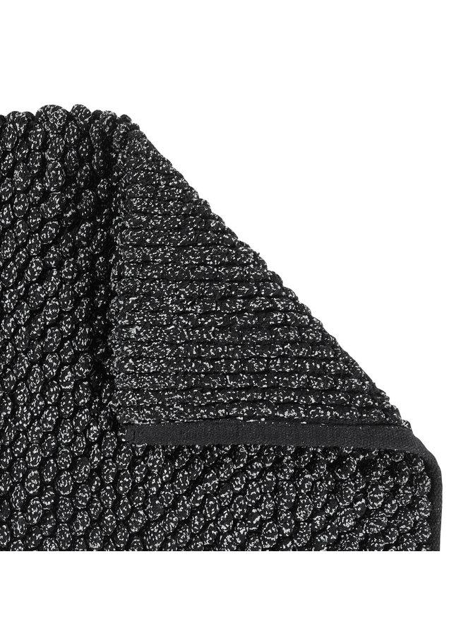 Brent badmat zwart
