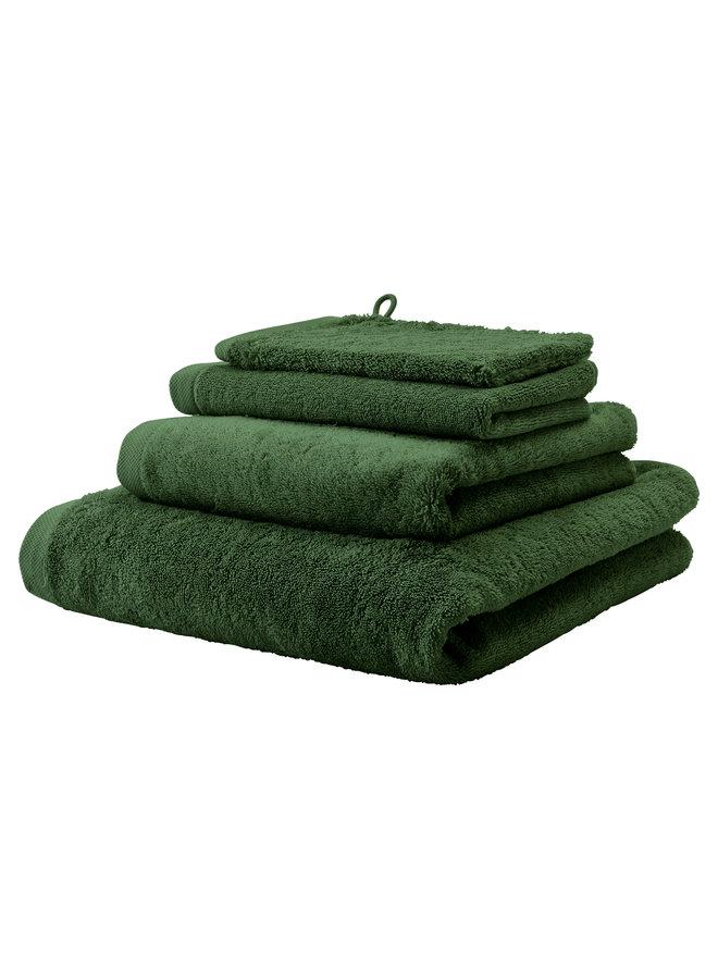 London handdoek moss