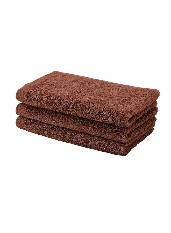 London handdoek Umber