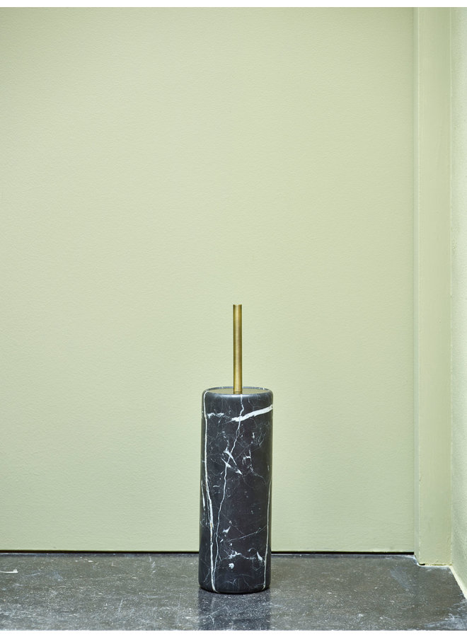 Nero Toiletborstelhouder Zwart