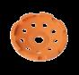 Collomix Slijpkom GST 125 Grinder (oranje), Ø 125 mm, H = 22 mm, b. v. voor dekvloer, abrasieve natursteen, incl. lamellenring-set