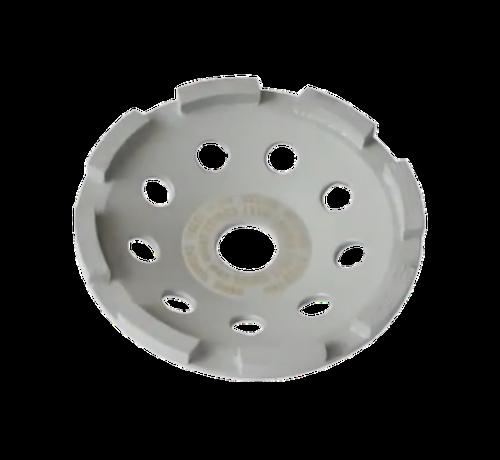 Collomix Collomix Slijpkom UST 125 Universal (grijs), Ø 125 mm, H = 22 mm, b. v. voor nieuw beton, tegellijm, incl. lamellenring-set