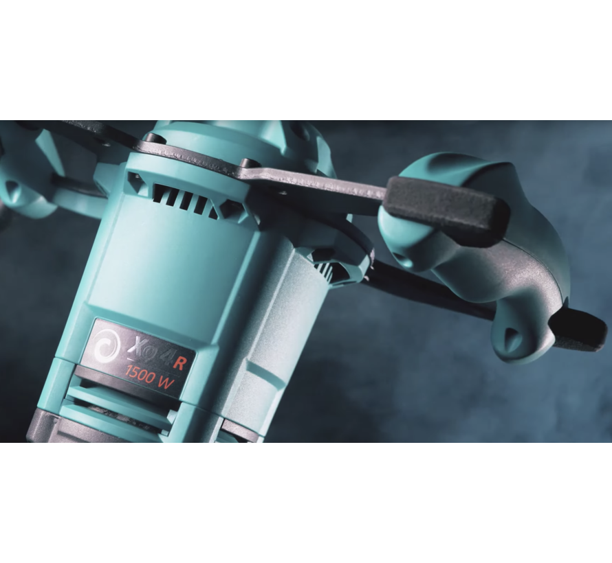 Collomix Handmenger Xo6 R HF met MK 160 HF, 1750 Watt, 230 Volt, 2 Versnelling, -400/-560 rpm