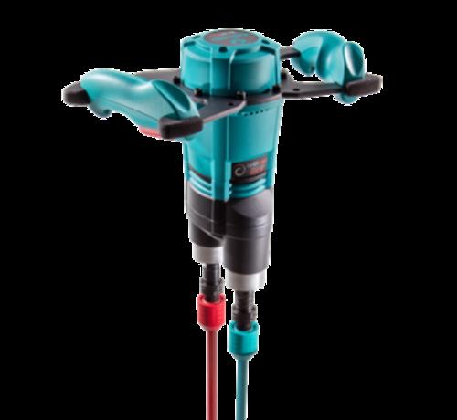Collomix Collomix Handmenger Xo 55 R duo, 1600 watt, 230 volt, -470 tpm, incl. 1 paar mengstaven MKD 140 HF
