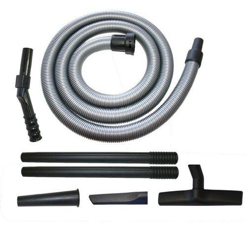Collomix Collomix Standaard zuigset voor stofzuiger VAC 35 M, bestaande uit 2 x stofmondstuk met hard bodenminzetstuk, 1 x greepbuis roestvrij staal, 2 x aanzuigbuis roestvrij staal, 2 x spleetmondstuk