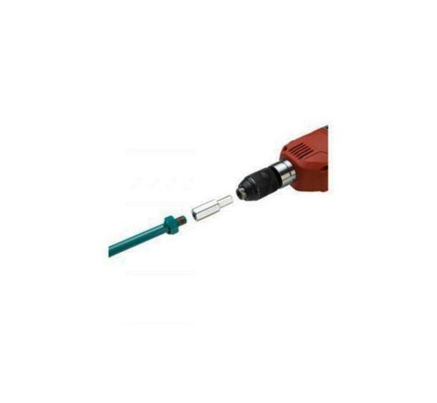Collomix Hexafix-Boorkop, 13 mm 6-kantige schacht voor Hexafix-Systeem, 135 mm lang