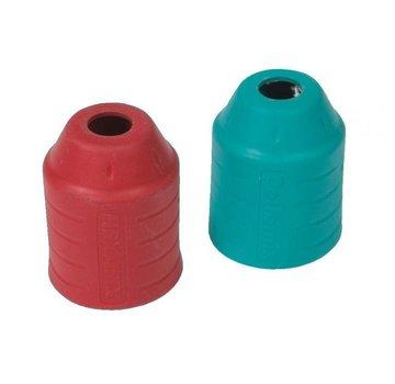 Set Beschermhulzen rood / turquoise voor Xo-duo