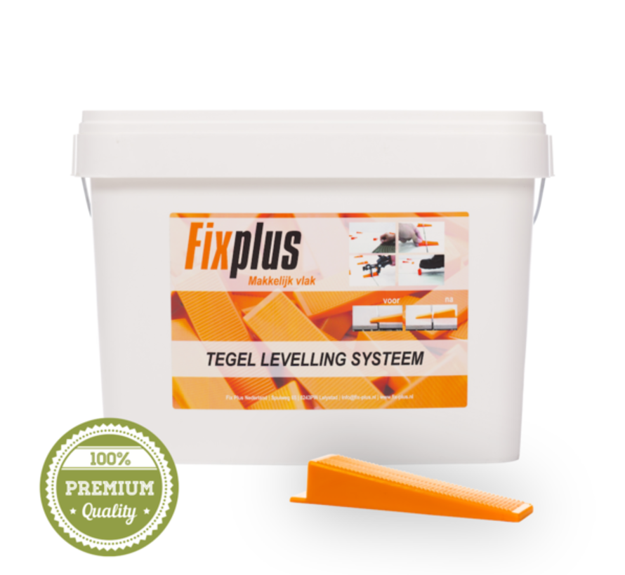 Fix Plus ® Levelling Keggen 500 st.