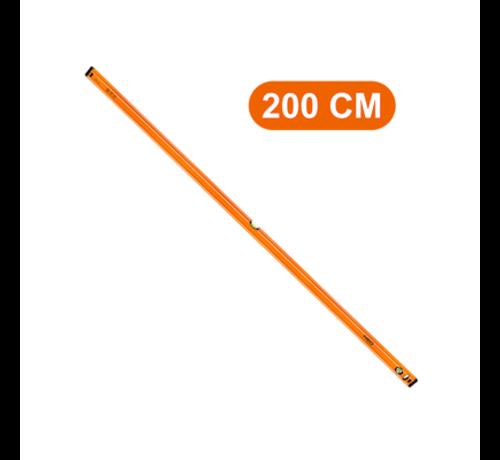 Neo Tools Waterpas 2 Libellen 200 cm PRO