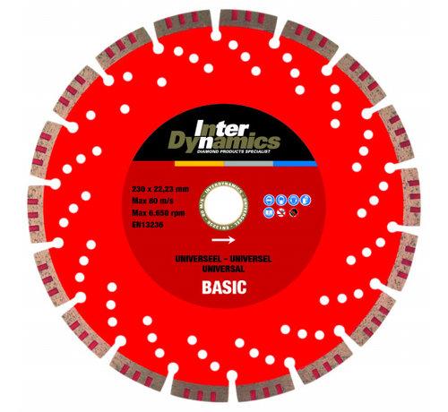 InterDynamics InterDynamics Diamantzaag Universeel Basic 230 mm