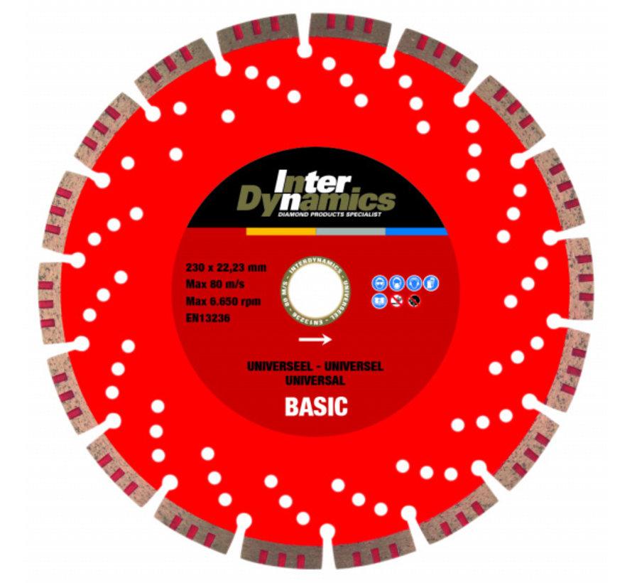 InterDynamics Diamantzaag Universeel Basic 230 mm