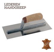 Pleisterspaan PURE 330x120x0,65 mm RVS Handgreep Leer