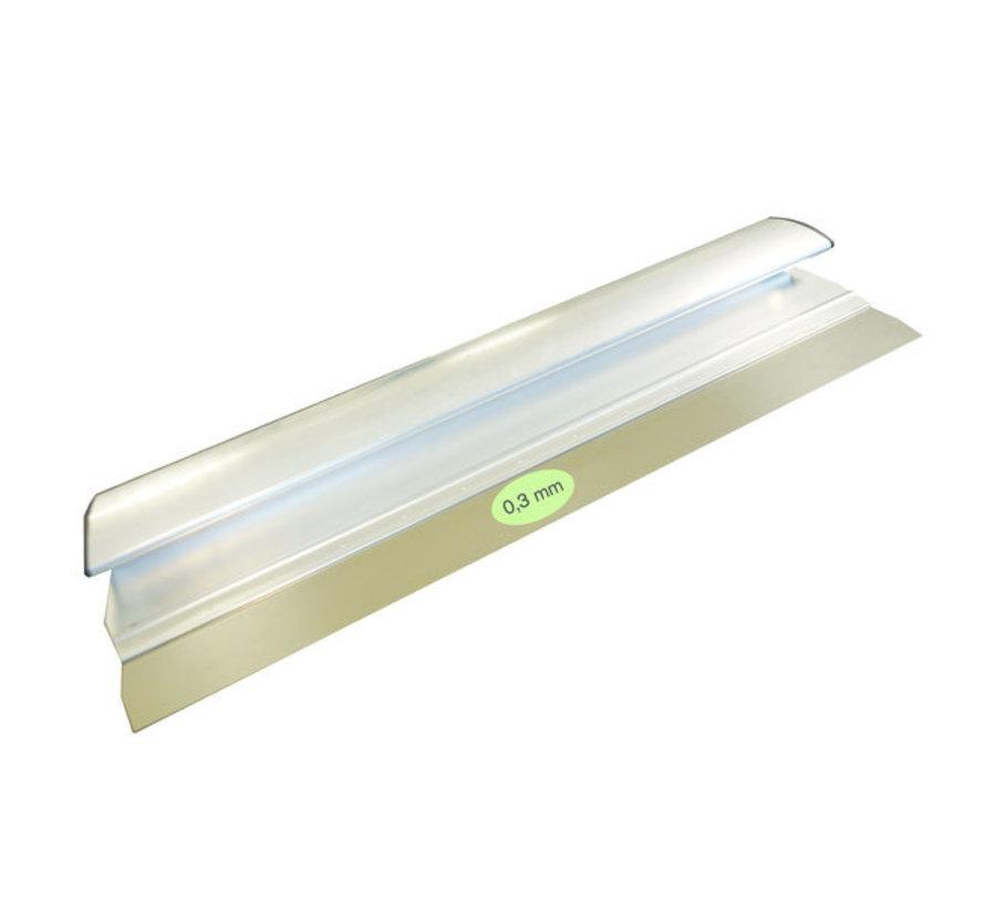Comfort Profile aluminium 380x0,3 mm RVS