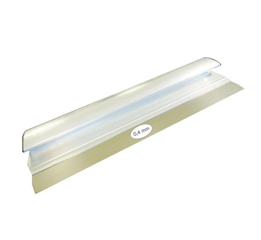Comfort Profile aluminium 1000x0,4 mm RVS
