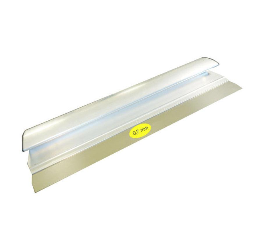 Comfort Profile aluminium 380x0,7 mm RVS