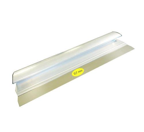Comfort Profile aluminium 1000x0,7 mm RVS