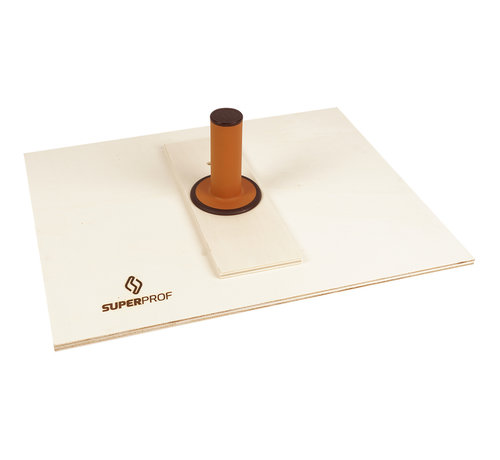 Raapbord hout 500 x 400 mm