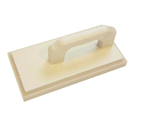 Schuurspons hout beige 280x140x20 mm