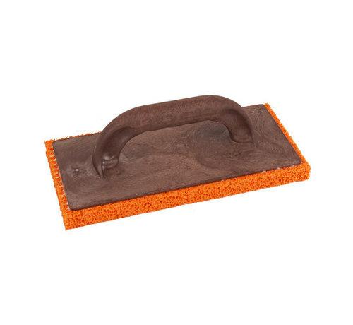 Schuurspons kunststof oranje grof 240x120x20mm
