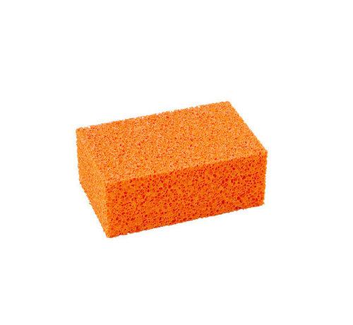 Blok-schuurspons oranje grof 170x110x65 mm