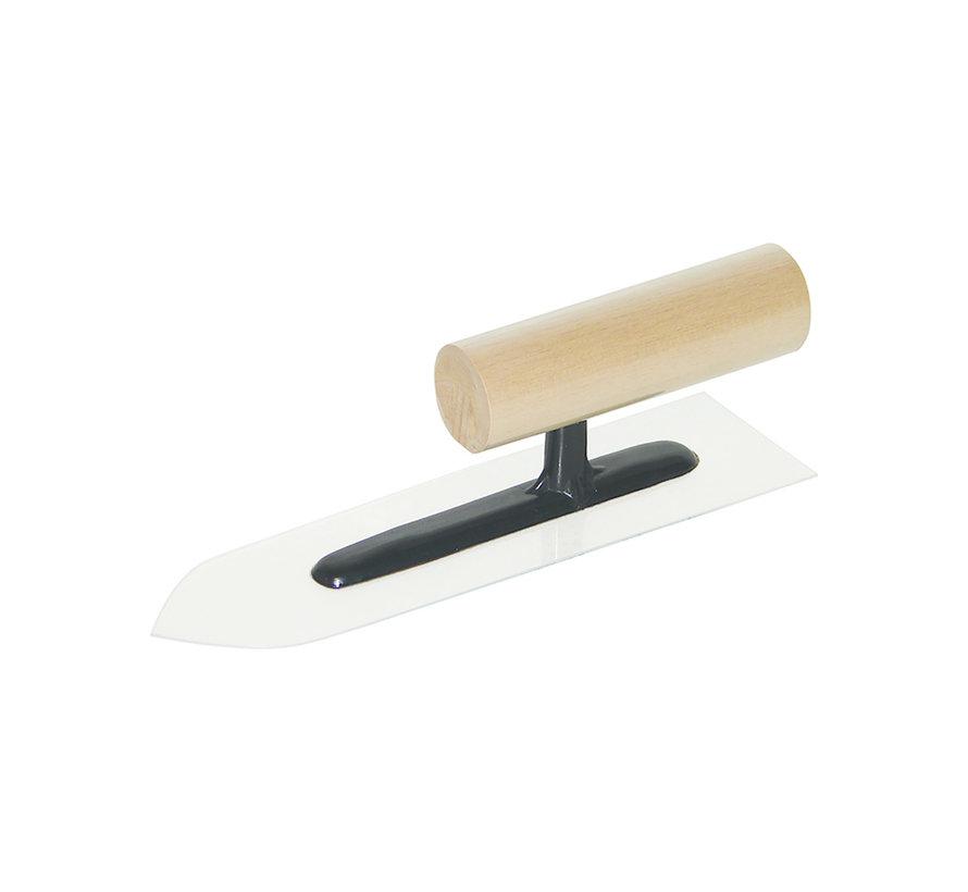Japanse Kunststof Spaan 210x60x10mm punt houten greep
