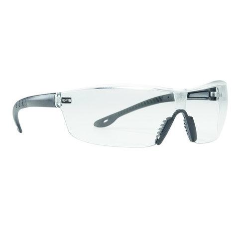North Veiligheidsbril Tactile T2400 3A-coating In/Outdoor zw veren