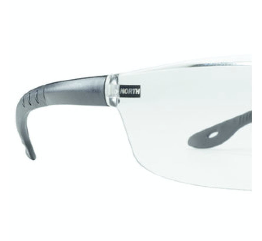 Veiligheidsbril Tactile T2400 3A-coating In/Outdoor zw veren