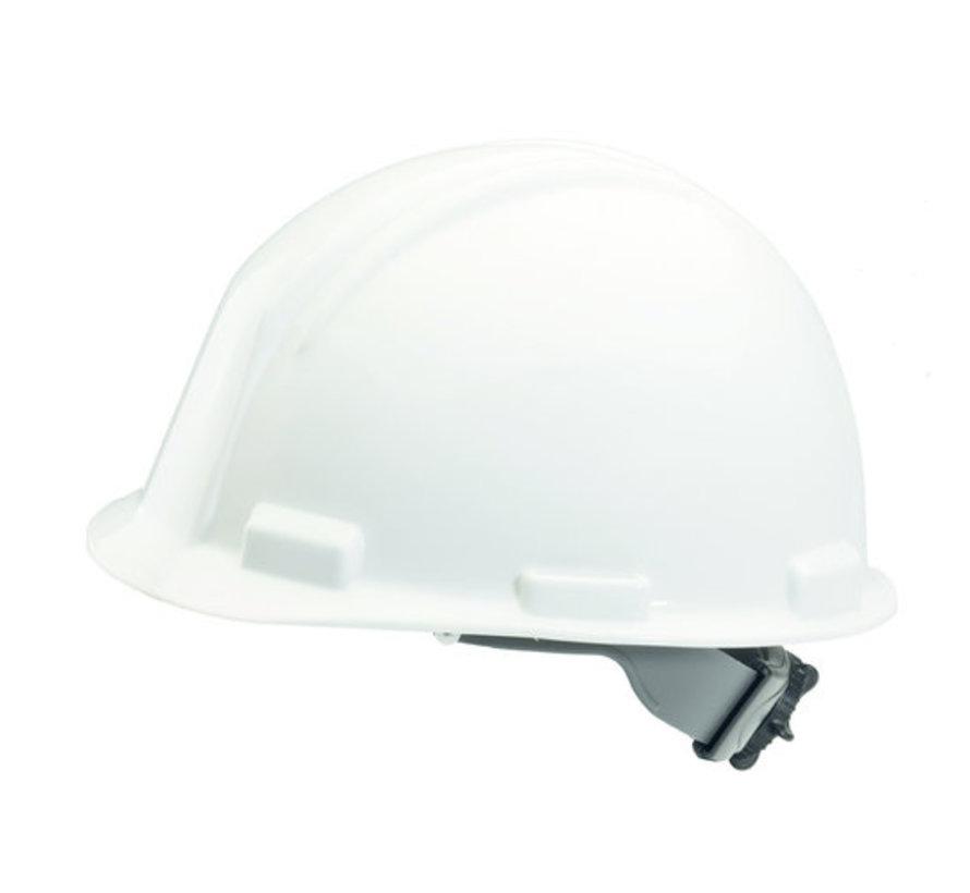 Veiligheidshelm Wit met draaiknopinstelling