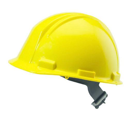 M-Safe Veiligheidshelm Geel met draaiknopinstelling