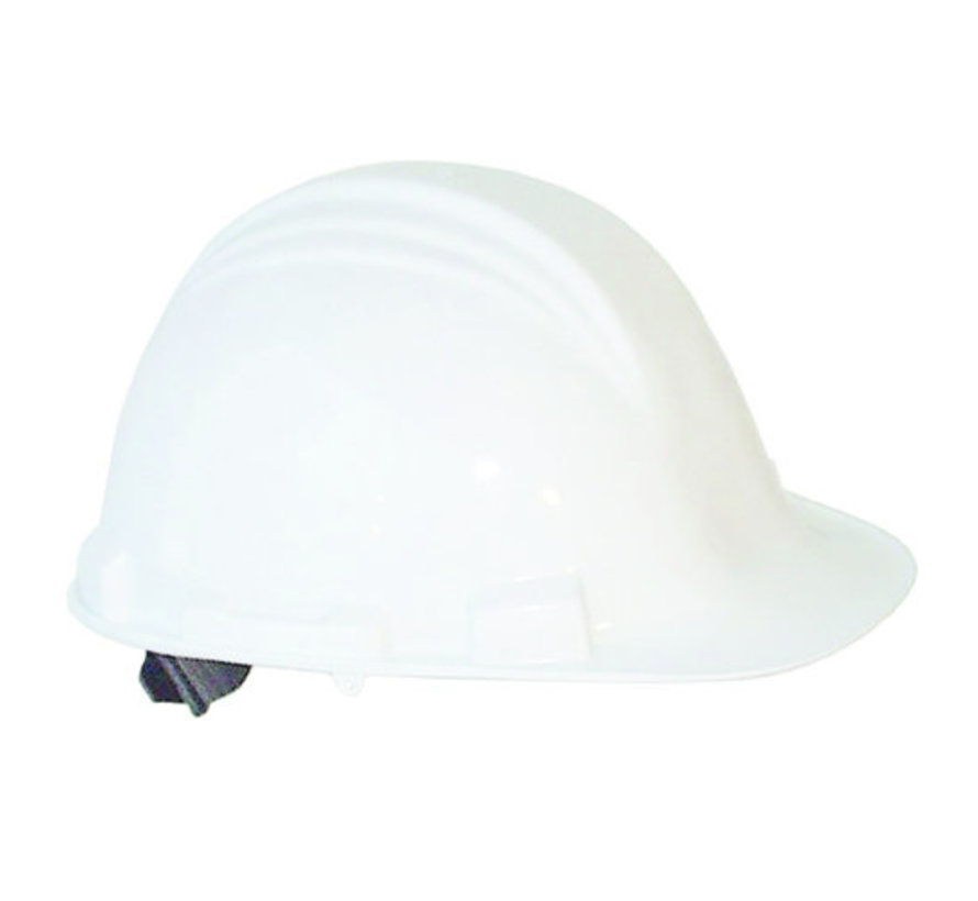Veiligheidshelm MH6000 wit PE 6-punts