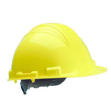M-Safe Veiligheidshelm MH6000 geel PE 6-punts