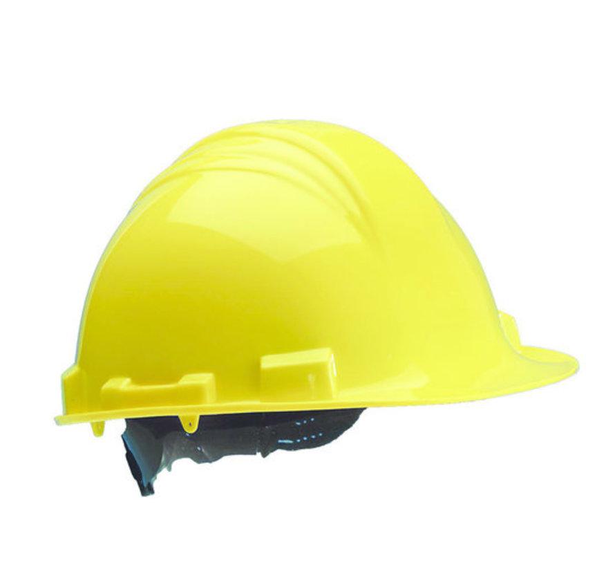 Veiligheidshelm MH6000 geel PE 6-punts
