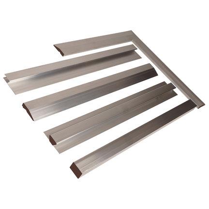 Aluminium rijen voor vloeren en wanden