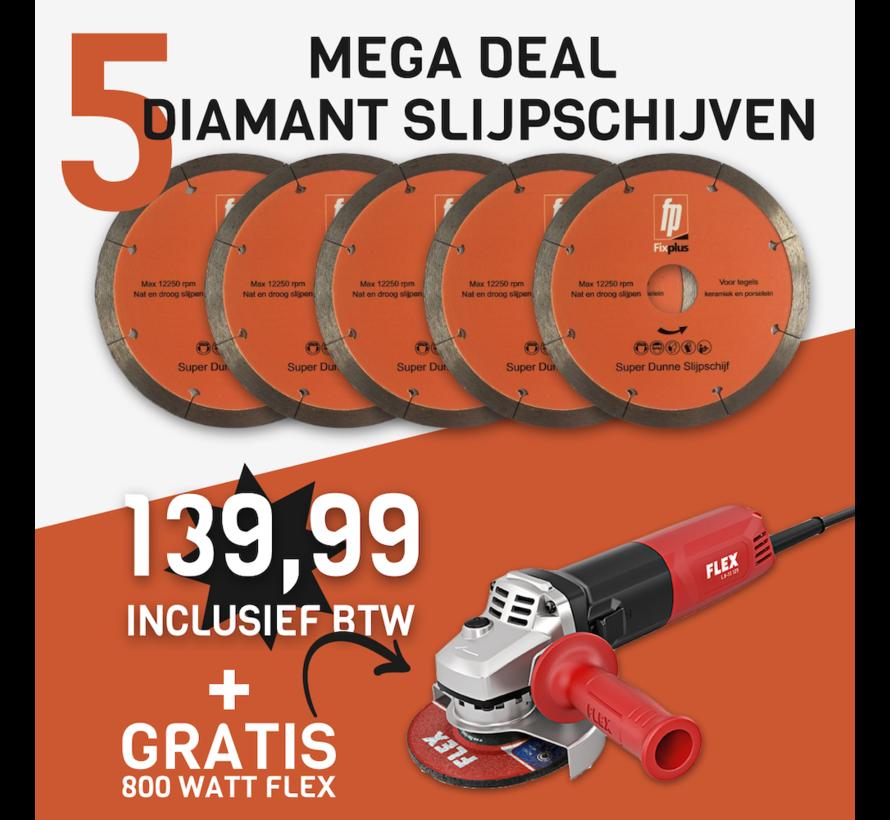 Deal 2021 5 x schijf + Flex