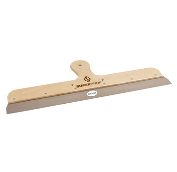 Super Prof Spackmes 250 mm RVS houten greep