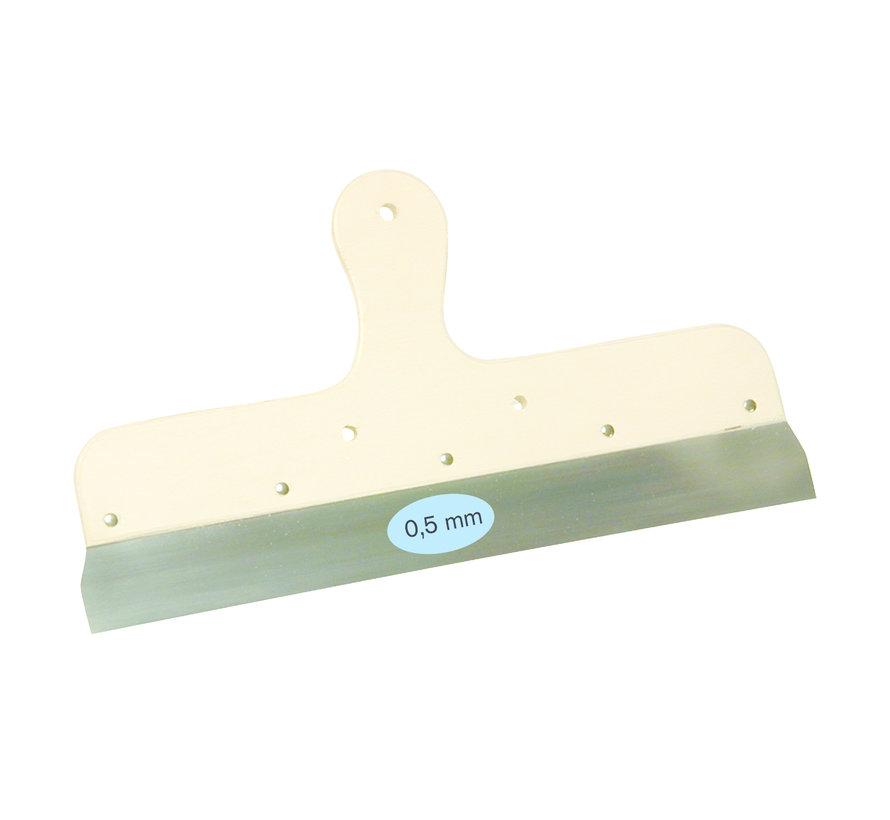 Spackmes 250 mm houten greep