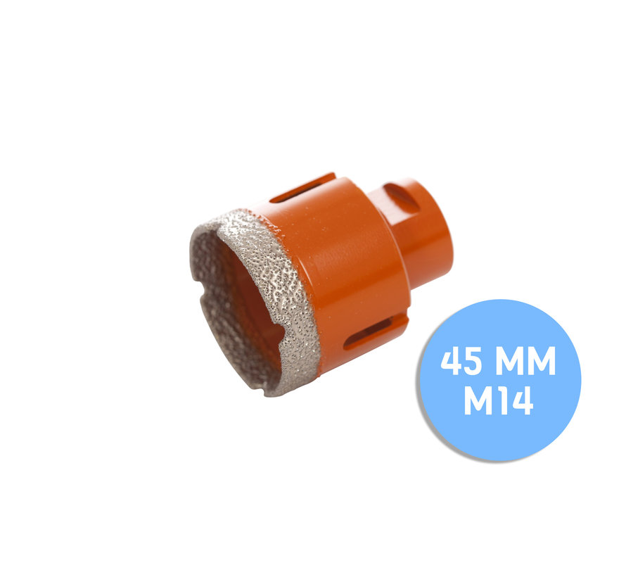 Fix Plus ® Tegelboor M14 - Ø 45mm.