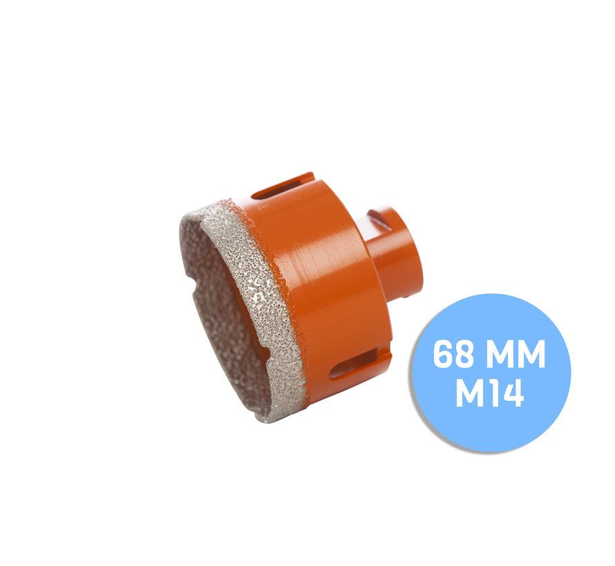 Fix Plus ® Tegelboor M14 - Ø 68 mm.