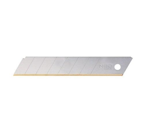 Neo Tools Reservemes voor afbreek messen 18 mm. Titanium 10 st.