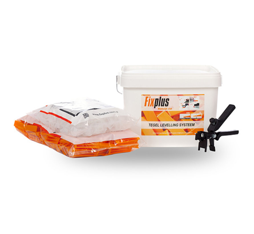 Fix Plus ® Starters Kit 250 BASIC 2mm.
