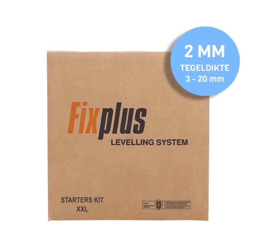 Fix Plus ® Twist Starters Kit XXL 2 mm