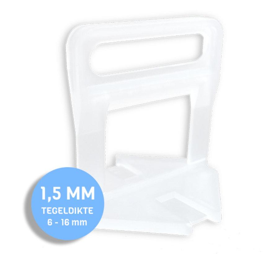 Fix Plus ® Levelling Clip 1,5 mm. 1000 st.