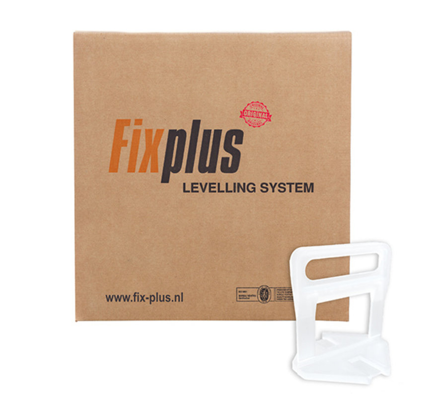 Fix Plus ® Levelling Clips 2000 st. 1mm.