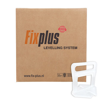 Fix Plus ® Levelling Clips 2000 st. 3mm.