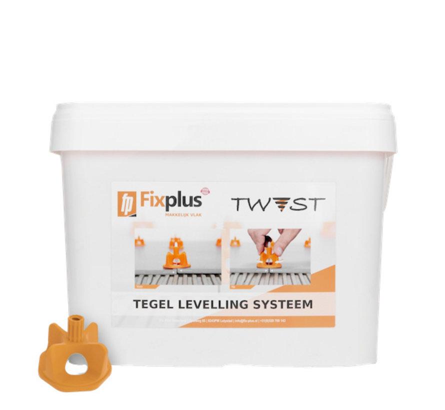 Fix Plus ® Twist Caps 250 st.