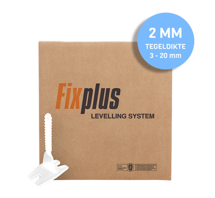 Fix Plus ® Twist Clips 2000 st. 2 mm