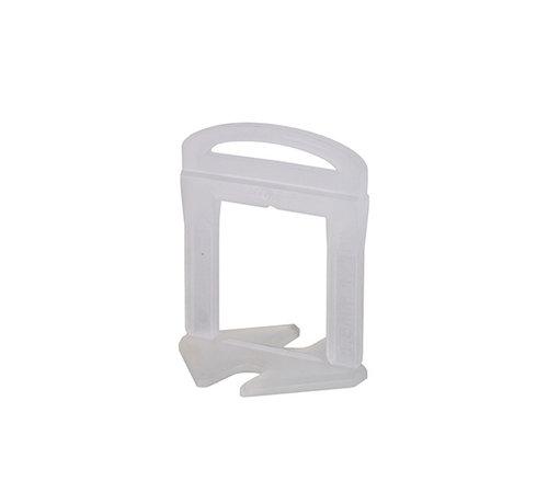 Rubi 100 Clips 1,5 mm Voor een tegeldikte van 11 - 20 mm