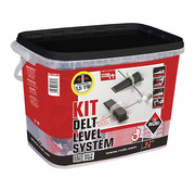 Rubi Rubi Delta Levelling Systeem Kit 100 1 mm