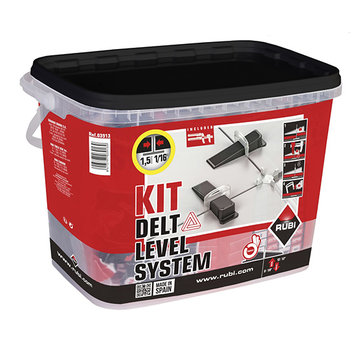 Rubi Rubi Delta Levelling Systeem Kit 100 1,5 mm